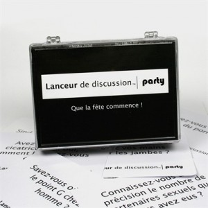 Frigopoesie lanceur de discussion party