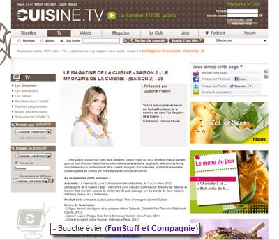 cuisine.tv bouche évier