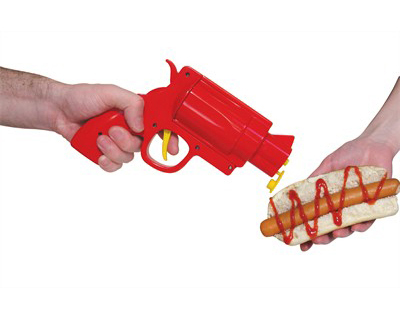 pistolet distributeur ketchup