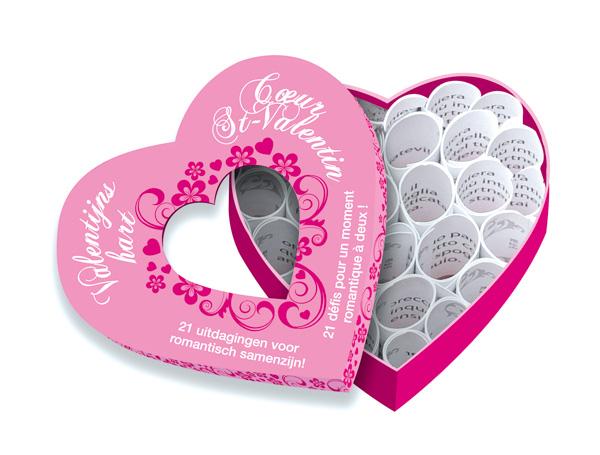 mini corps à coeur St-valentin